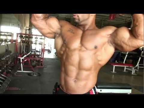 "Bodybuilding muscle DVD - IFBB pro bodybuilder Cory Mathews ""Pushing the Limits"" MostMuscular.Com"