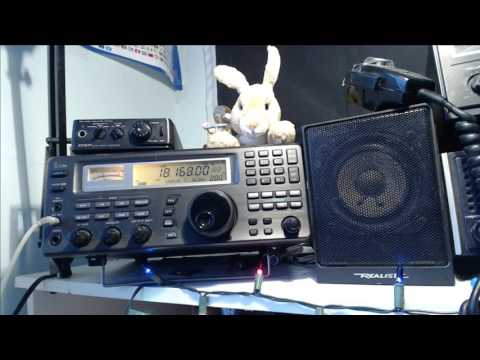 Tuning the Shortwave radio bands live January 20th 2017