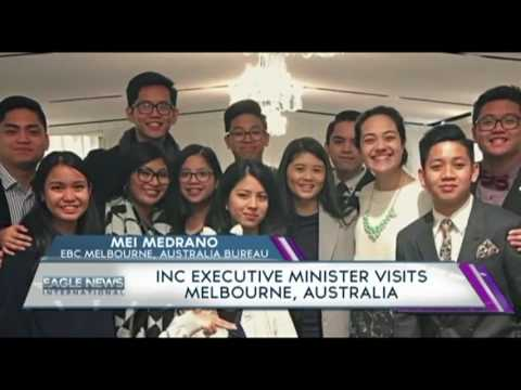 INC EXECUTIVE MINISTER VISITS MELBOURNE,AUSTRALIA
