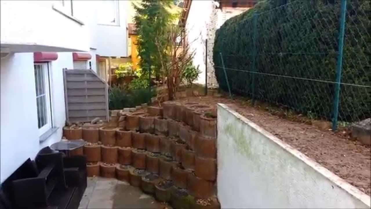 Anlegen eines Steingarten,Creating a rock garden - YouTube