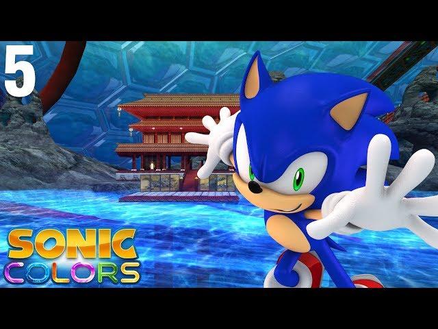 Sonic Colors (Wii) [4K] - Story Playthrough (5/7) - Aquarium Park