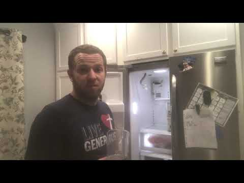 Frigidaire Gallery Ice Maker Disassemble and Troubleshoot
