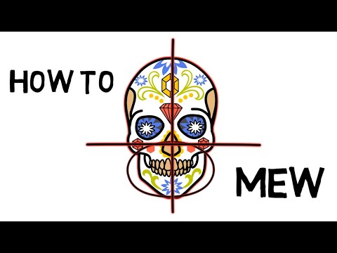 How to Mew (Animated) How using correct tongue posture can make you more attractive and healthier