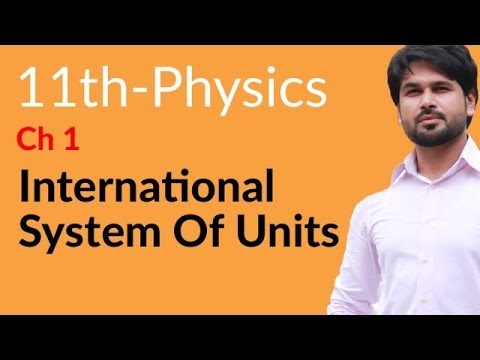 FSC Physics book 1,International System of Units-Physics Chapter 1 Measurements-1st year Physics