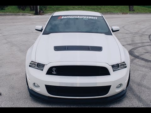 1180HP Serious Mustang Shelby GT500