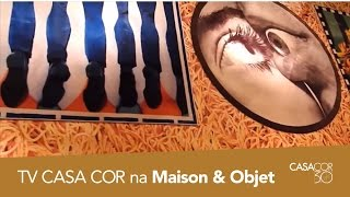 TV CASACOR entrevista Stefano Seletti na Maison & Objet!