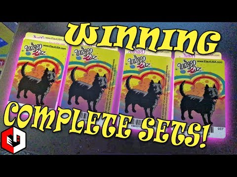 Wizard of Oz Coin Pusher | Winning 4 COMPLETE SETS | SERIOUSLY?!?