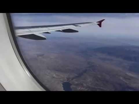 Airbus A 321 Start Flughafen Antalya mit Landung Berlin Tegel