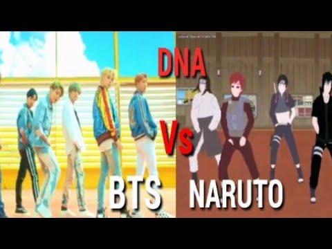 BTS VS NARUTO-DNA BATTLE