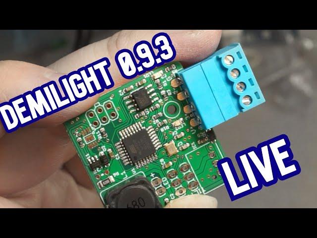 Tiny DMX Moving Lights: Order of the Phoenix (Connectors) [Demilight LIVE]