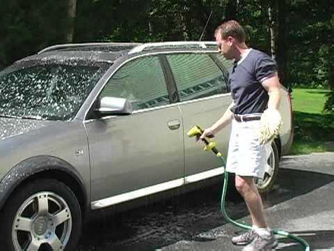 Soapjet Handheld Car Wash Hose Nozzle Funnydog Tv