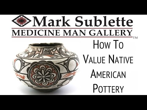 Valuing Native American Indian Pottery - YouTube