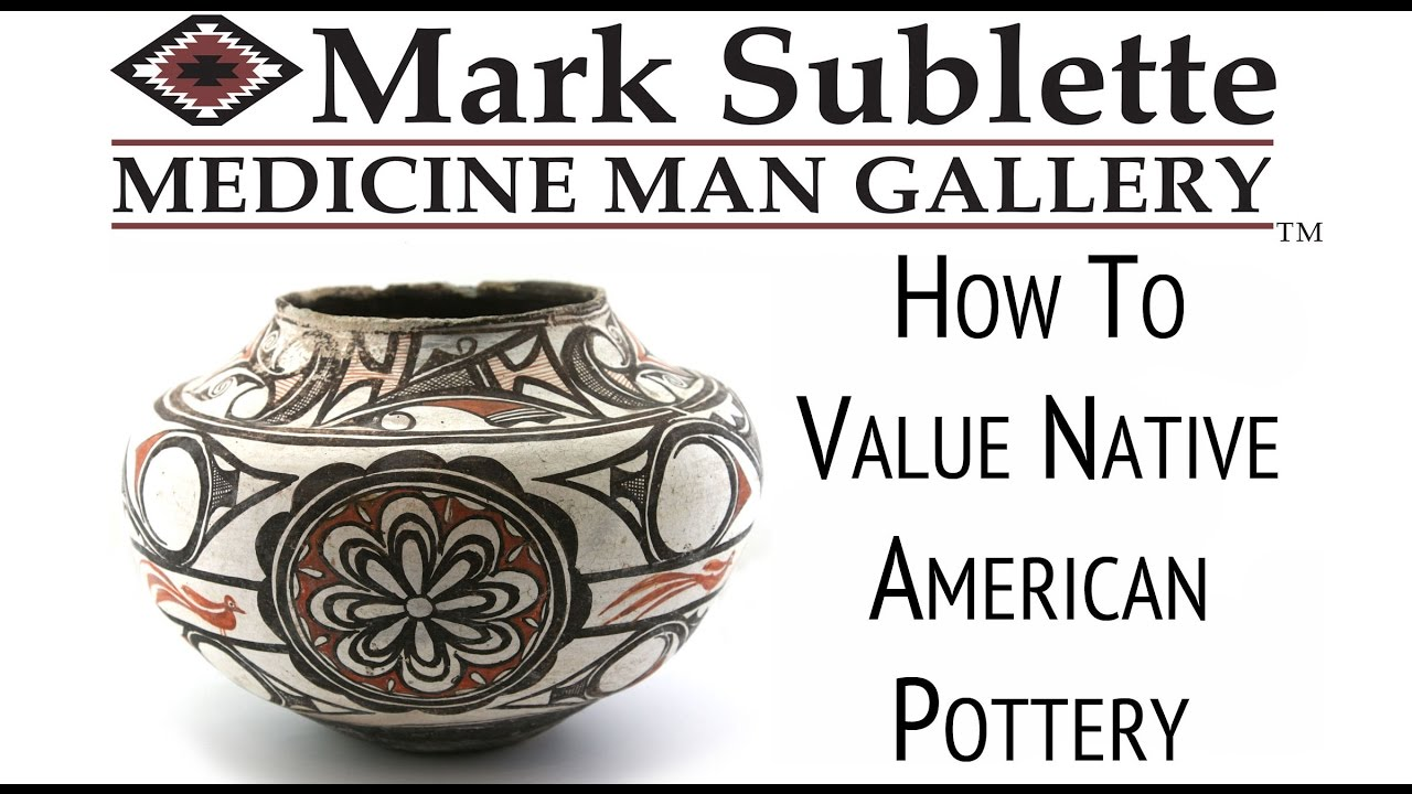 Valuing Native American Indian Pottery
