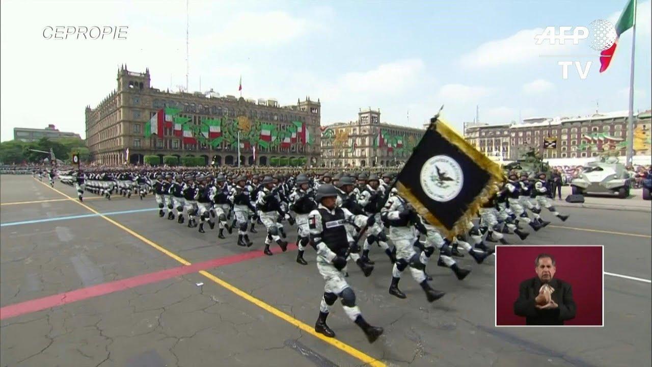La Guardia Nacional Abre El Desfile Militar Por