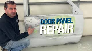 How to Fabricate a Patch Panel on a Door - Tips for Rust Repair - Eastwood