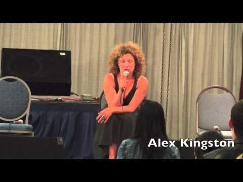 Alex Kingston, River Song from Dr Who, Q&A at Florida Supercon  July 2012