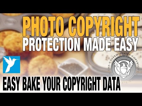 How-To Make Photo Copyright Protection Easy - Secure Your Images - No Orphaned Work