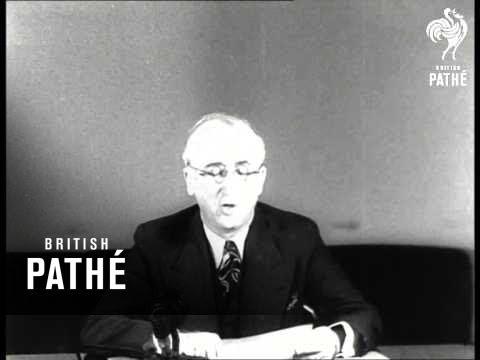 Byrnes Reports On London Talks (1945-1946)