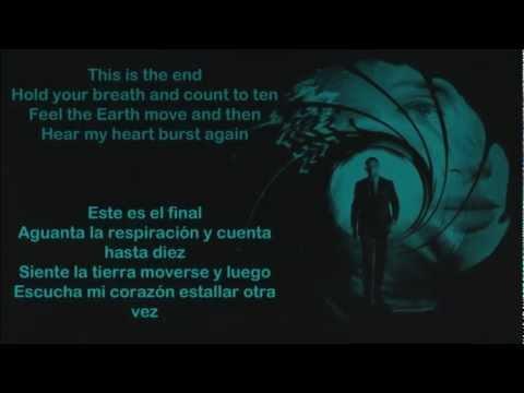 Adele - Skyfall (Lirycs Inglés-Español)