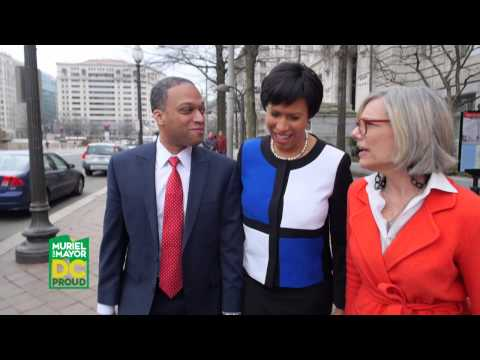 On April 1st, vote Muriel Bowser for DC Mayor