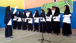 Lomba Koor Hymne Dan Mars Madrasah Oleh MTs GERPEMI Tebas