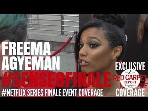 Freema Agyeman talks about Netflix's...