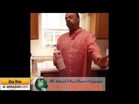 How to clean your oven, Eco Orange cleans even the toughest grease and grime.