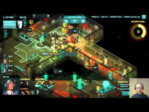 Invisible, Inc. 10-11 Contingency Plan (Omni Foundry Lab)