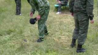 приём против ножа!(сержант Айляров М. и курсант Дзобелов Т., 2012-08-24T14:03:52.000Z)
