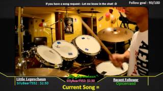 [Twitch: 1upDwarf] - (drum-play) -- Epik High - Fan (album version)
