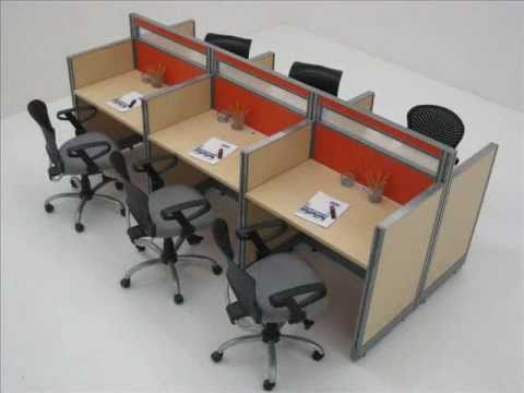 Sistema modular para oficinas youtube for Oficina internet