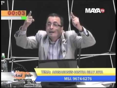 Billy Joya en Debate con el Diputado UD Sergio Castellanos