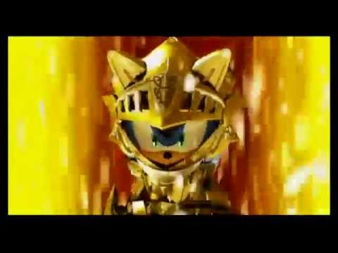 Sonic And The Black Knight Sonic Transformes Into His Gold Armour Hd Youtube