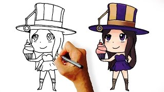 How to Draw Caitlyn League of Legends Chapions Chibi