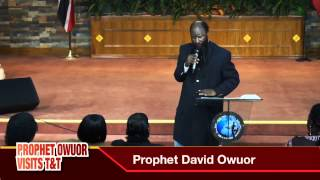 Prophet Owuor - Trinidad and Tobago 1st meeting