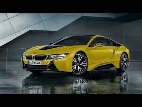 The Bmw I8 Protonic Frozen Yellow Edition Arrives In But Only 4