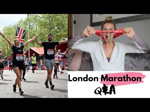 LONDON MARATHON Q&A| WHAT HAPPENED? TRAINING & DIET. FIRST AND LAST?