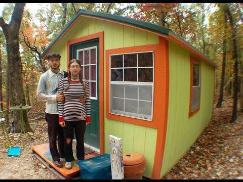 Our Ozark Tiny House 3000 150 sqft No PLUMBING YouTube