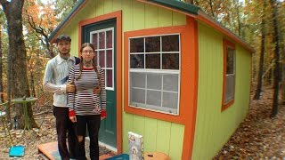 Our Ozark Tiny House $3,000 - 150 Sqft & No Plumbing