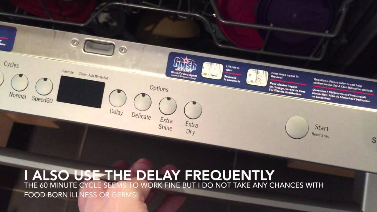 how to choose bosch dishwasher