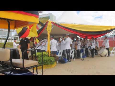 Pancaragam PDRM Sarawak - Negaraku (Versi Separuh Diraja) dan Sarawak Ibu Pertiwiku