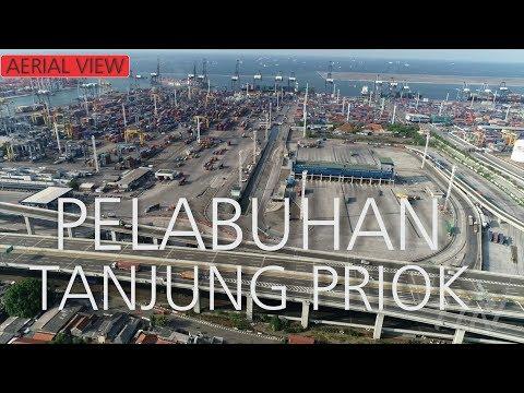 Pelabuhan Tanjung Priok Jakarta 2019 (Drone)