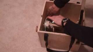 Electric Spinning Wheel Setup