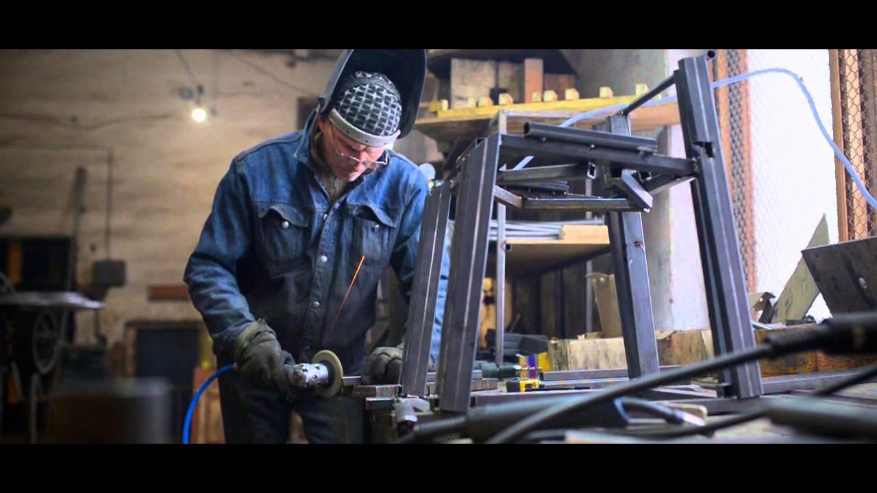 Процесс изготовления стула