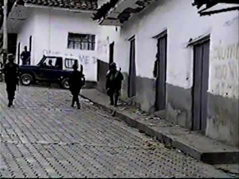 TOMA GUERRILLERA A CAJIBIO CAUCA
