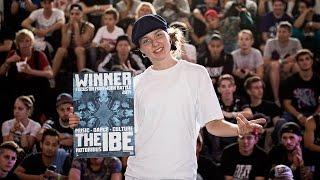 Finał  Footwork Battle na IBE 2014: AT Vs. Skeeter