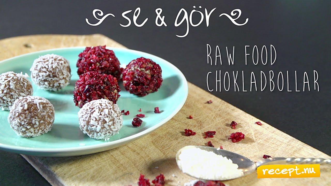 raw food kokosbollar