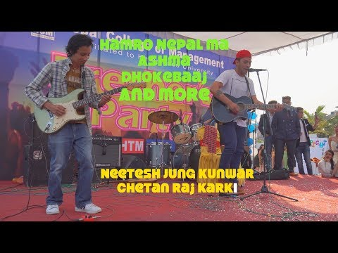 LIVE ON STAGE||Neetesh Jung Kunwar and Chetan||The College Show