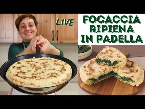FOCACCIA RIPIENA IN PADELLA (con quello che c'è) - Ricetta Facile Live