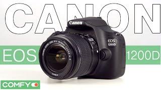 Canon EOS 1200D - зеркальная фотокамера начального уровня - Видеодемонстрация Фотокамеры от Comfy.ua(Зеркальная фотокамера Canon 1200D подойдет как для начинающих фотографов так и для тех кто давно занимается..., 2015-06-13T10:13:13.000Z)